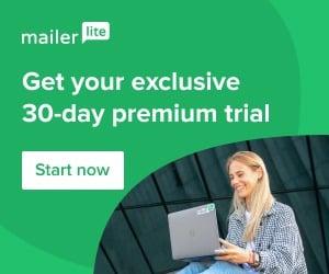 MailerLite – prémiové funkce při nové registraci pro vás na 30 dní!